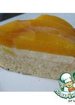 Легкий фруктовый тортик