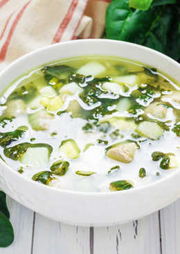 Зеленый борщ рецепт вкусного и легкого супа