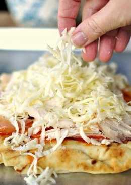 Очень быстрая,вкусная и дешевая пицца