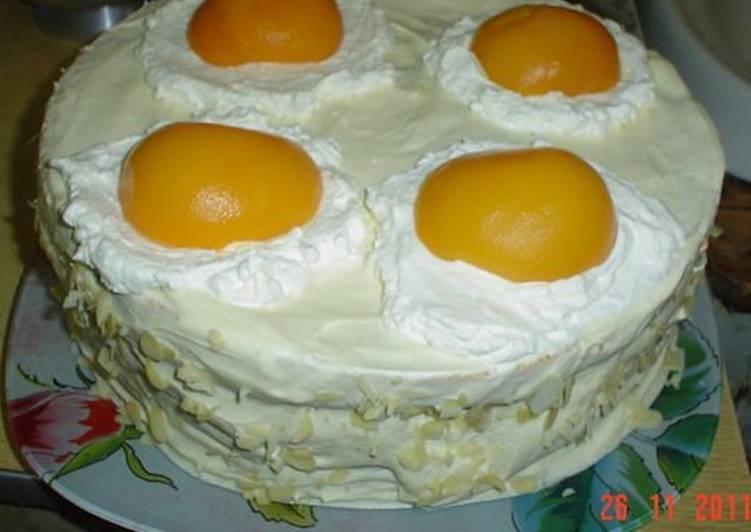 "Торт ""Яичница"" (гламурная)"