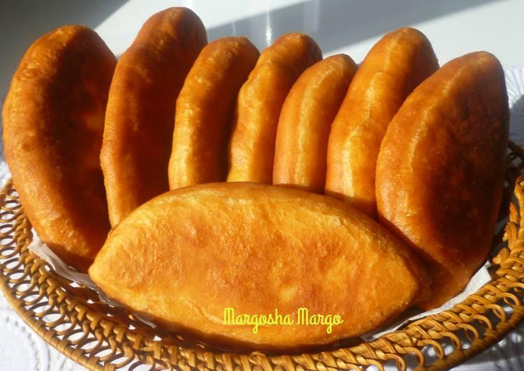 Пирожки из дрожжевого теста,которое не требует подъема