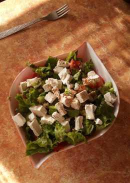 Легкий летний салат #кулинарныймарафон