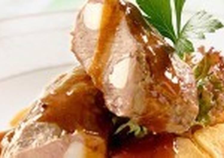 Шпигованное говяжье филе
