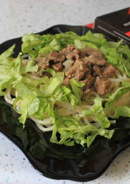 Тушёная свинина с приправой для шашлыка с ямайским перцем и кориандром Forester