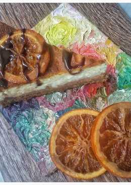 Морковно-творожный чизкейк