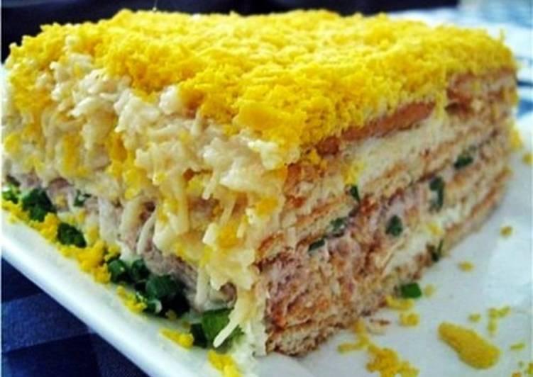 салат бутербродный рецепт