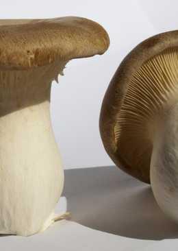 Маринованные степные белые грибы