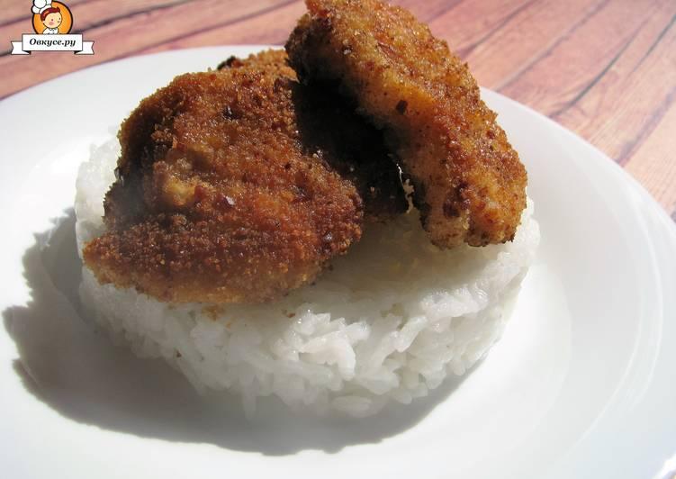 Куриные наггетсы в панировке с беконом