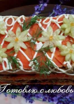 🐟 Рыбный торт 🐟