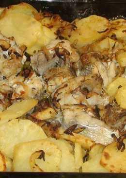Бакаляу. Треска с картошкой по португальски