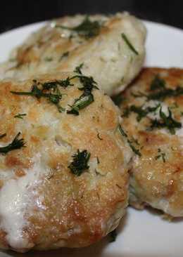 Картофельные котлеты с фаршем, простой рецепт