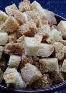 Хлебные сухарики