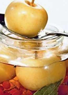 Простая яблочная заготовка