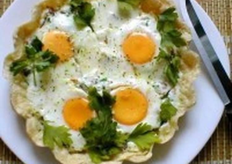 Яичница-пай на завтрак