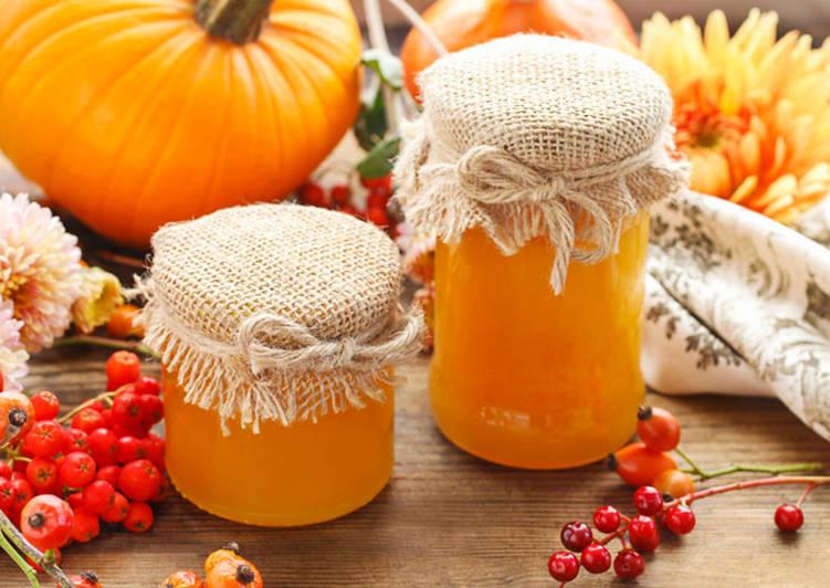 Тыквенный мед, рецепт приготовления
