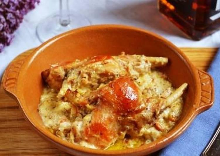 Рецепт кролика с картошкой в мультиварке - Картошка