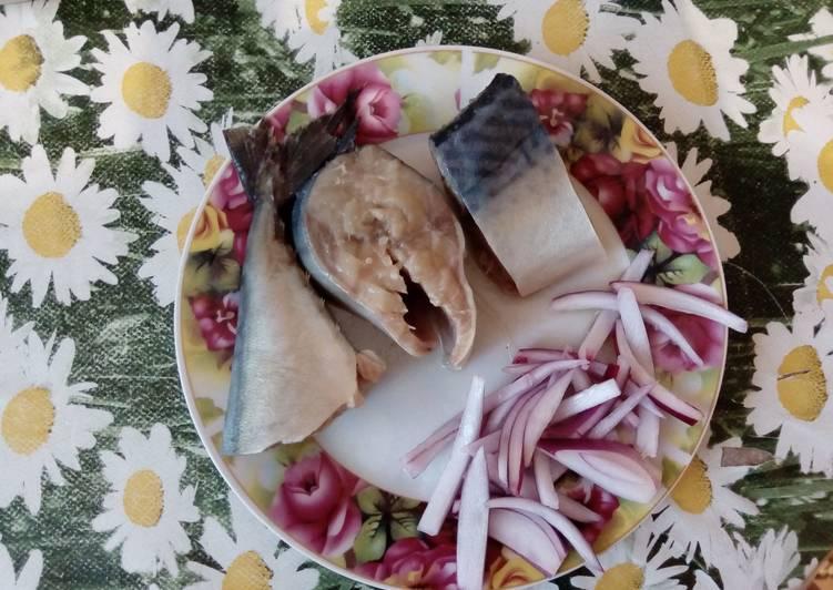 Скумбрия в горчичной заливке