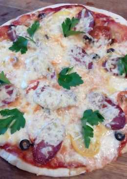 Домашняя пицца. Рецепт приготовления теста