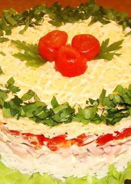 """Праздничный салат """"Крутой перец"""""""