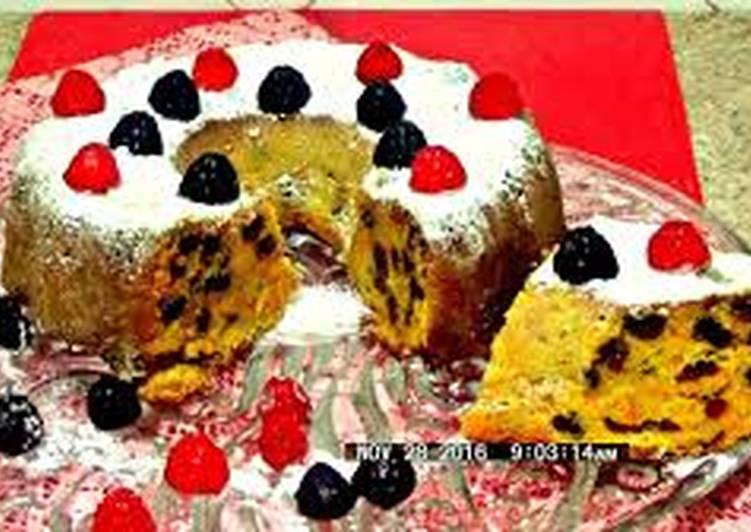 Тыквенно-апельсиновый ароматный кекс с изюмом - самый простой рецепт