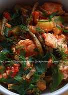 Жаркое из индейки со стручковой фасолью