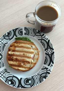Вкусные бутерброды на гриле