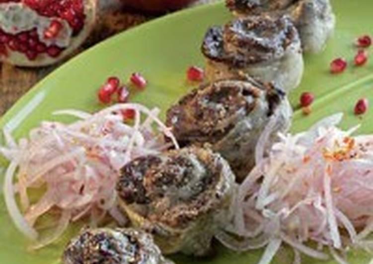 Шашлык-рулет из говядины