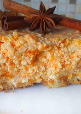 Нежнейший Тыквенно-Творожный Пирог с Айвой