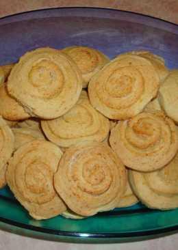 Печенье песочное Спиральки сахарные