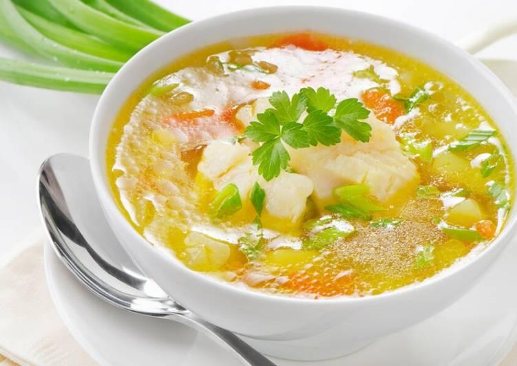 как приготовить суп с треской