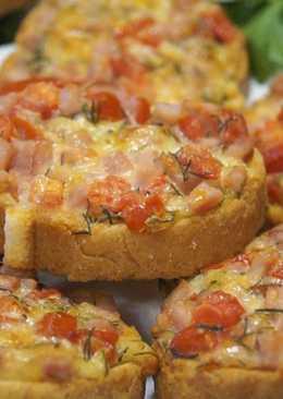 Бутерброды «Ленивая пицца»