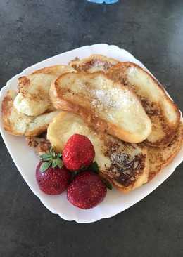 Десерт из белого хлеба
