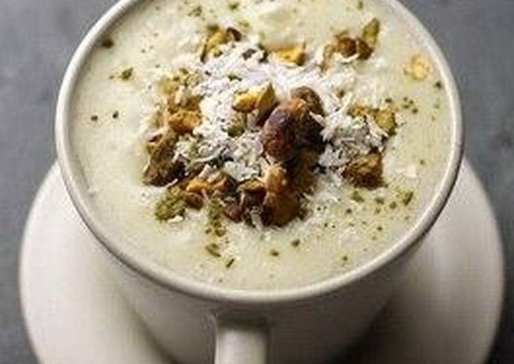 Сахлеб – молочный кисель-пудинг по-арабски