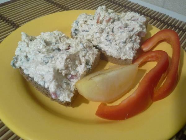 Творожная закуска на бутерброды