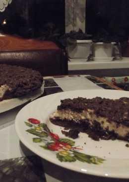 """Пирог с творогом """"Улыбка негра"""""""
