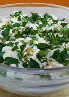 Вкусный салат из кальмаров - нежный и легкий