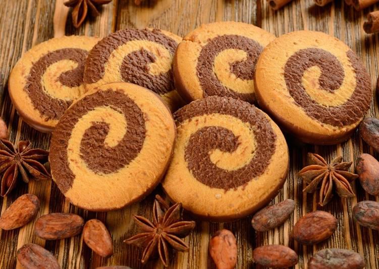 Новогоднее печенье «Спиральки»