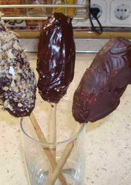 Домашние глазированные сырки или мороженое на палочке