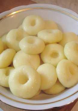 Вкусное картофельное тесто для клецек, кнедлей, зраз