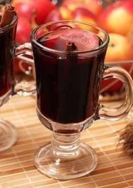 Глинтвейн из красного вина на вечер