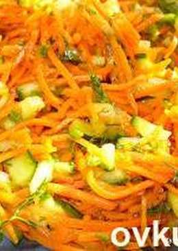 Морковь по-корейски весенняя