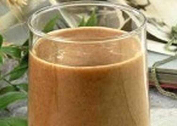 Кисель с какао или кофе