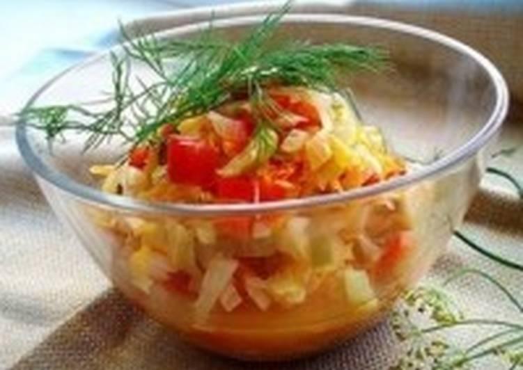 Салат-заготовка «Дунайский»