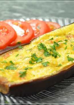Баклажаны фаршированные овощами запеченные в духовке