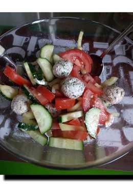 Овощной салат с Пхали