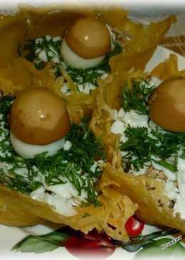 Закусочные сырные корзиночки