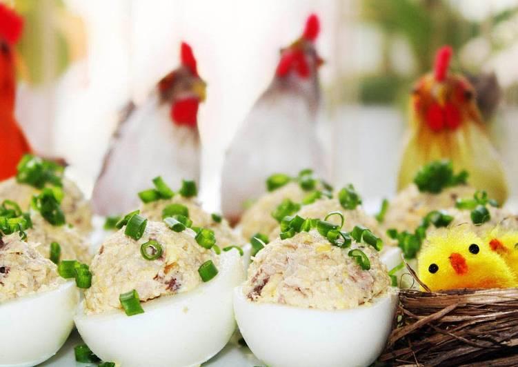 Фаршированные Яйца Мимоза