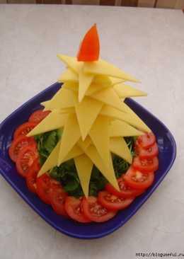 Креативное блюдо на праздничный стол