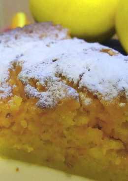 Тыквенный пирог с лимоном