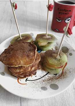 ПП завтрак Овсяные панкейки